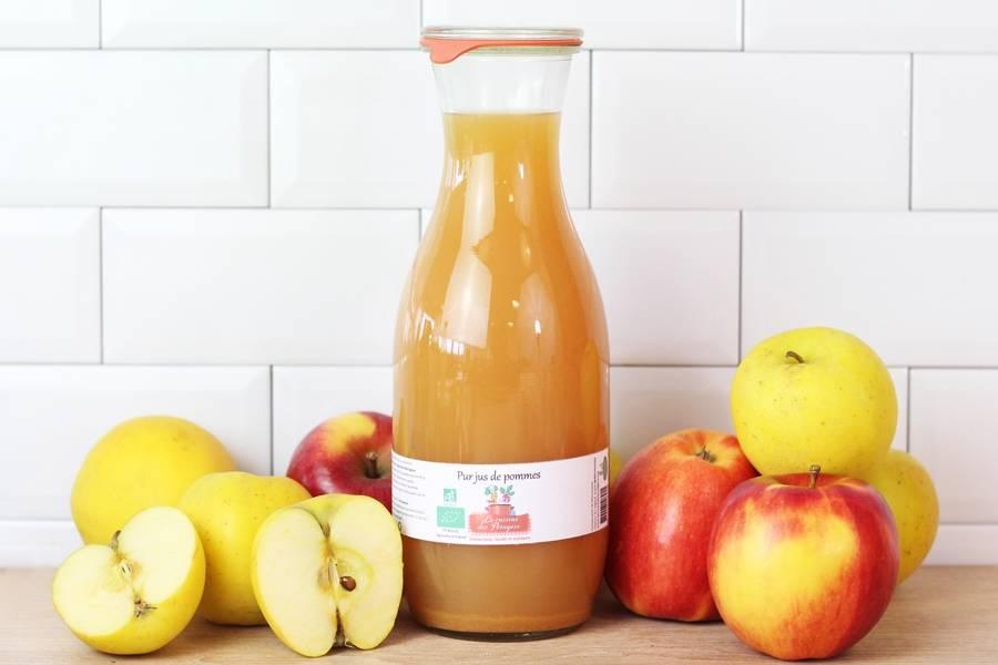 Jus de pomme BIO - Conserverie coopérative de Marcoussis - La Ruche qui dit Oui ! à la maison