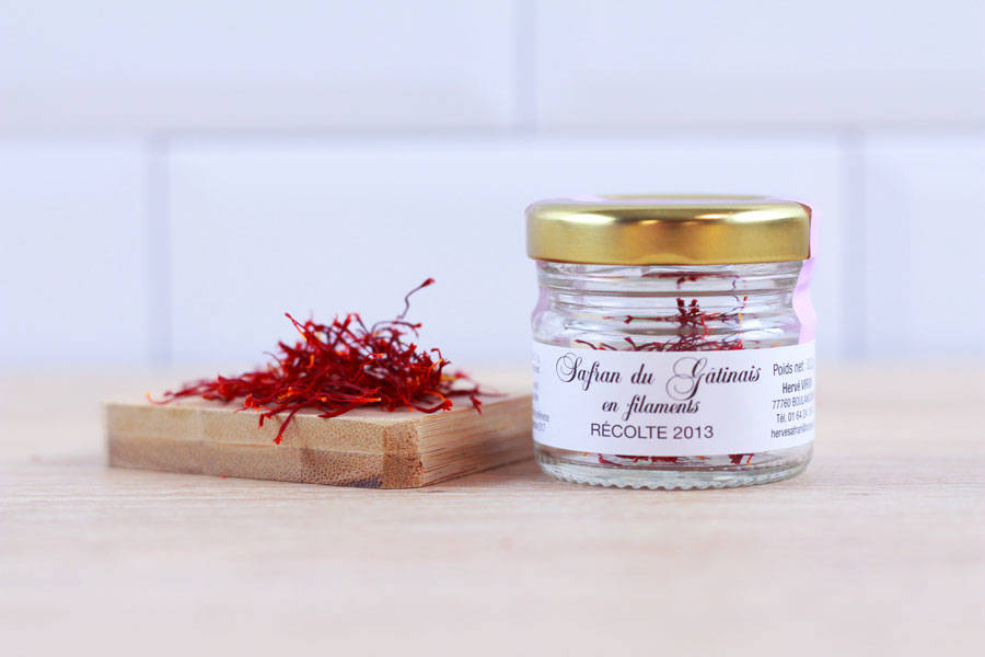 Safran du gâtinais en filaments 0,2g BIO - Safran du Gâtinais - La Ruche qui dit Oui ! à la maison