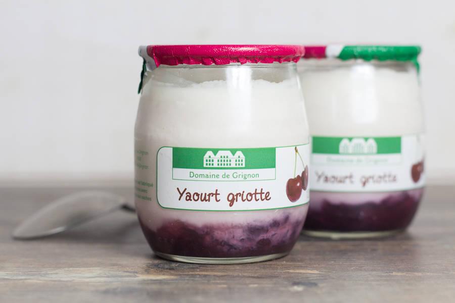 Yaourt griotte - Ferme de Grignon - La Ruche qui dit Oui ! à la maison