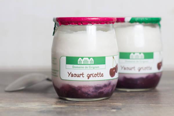 Yaourt griotte - Ferme de Grignon - Le Comptoir Local