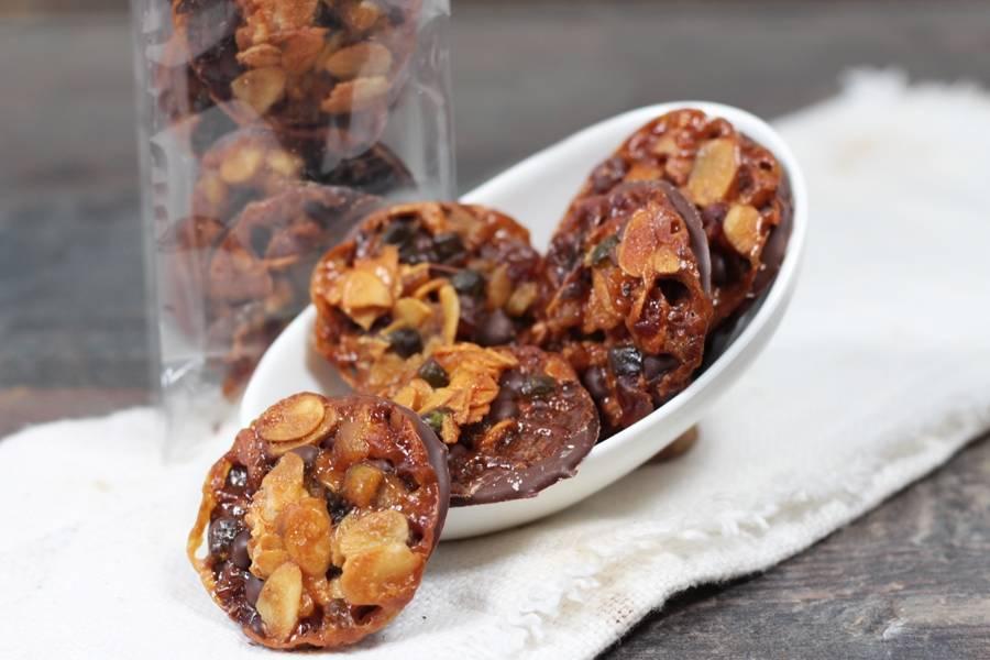 Florentins au chocolat au lait - Le Furet Tanrade - La Ruche qui dit Oui ! à la maison