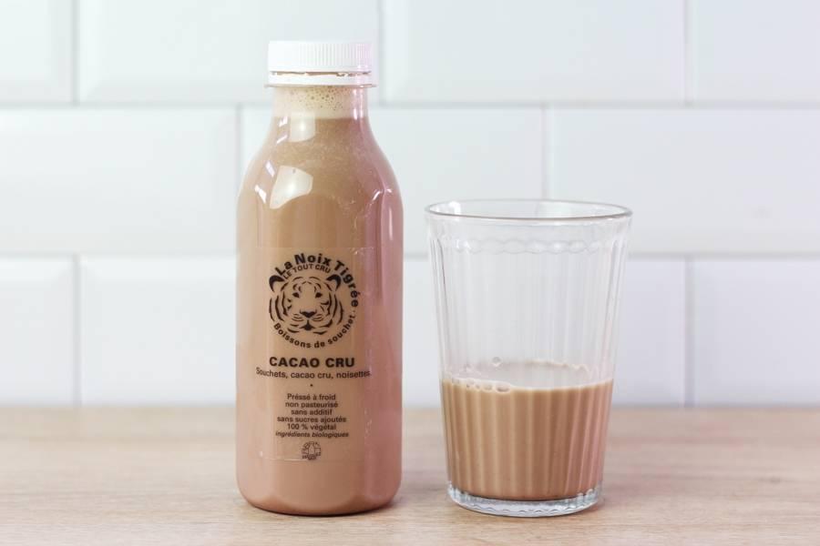 Boisson végétale cacao & noisettes crus BIO - La Noix Tigrée - La Ruche qui dit Oui ! à la maison