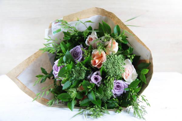 Bouquet émotion du jour BIO - Fleurs de Cocagne