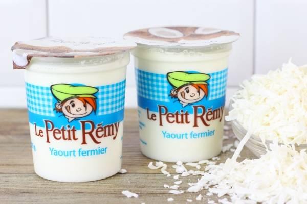 Yaourt fermier à la noix coco - Ferme du petit Rémy