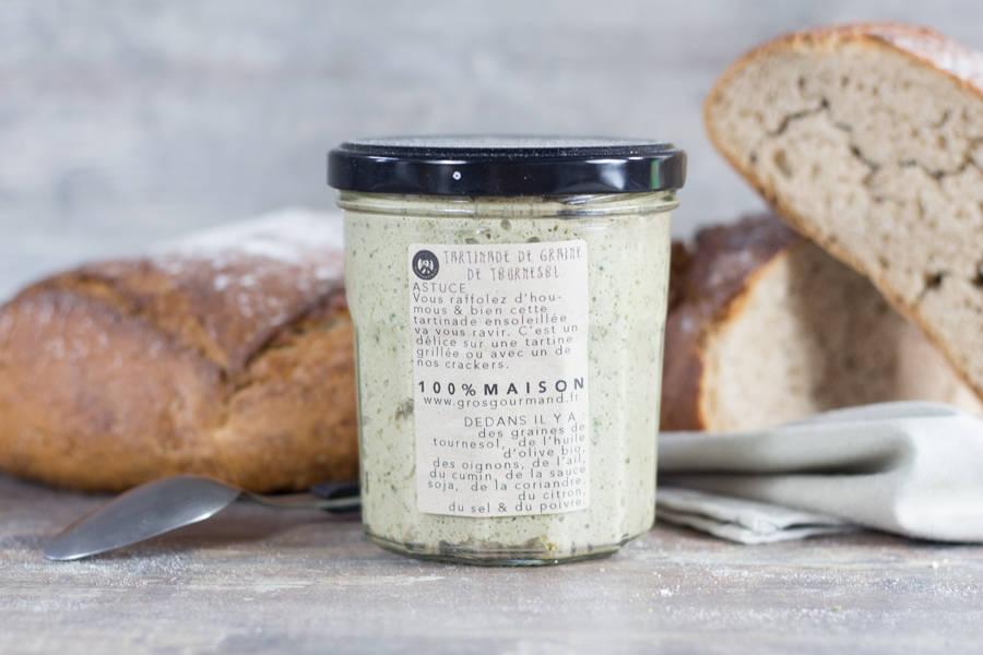 Tartinade de graines de tournesol - Gros Gourmand - La Ruche qui dit Oui ! à la maison