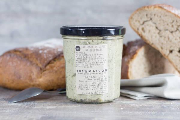 Tartinade de graines de tournesol - Gros Gourmand - Le Comptoir Local