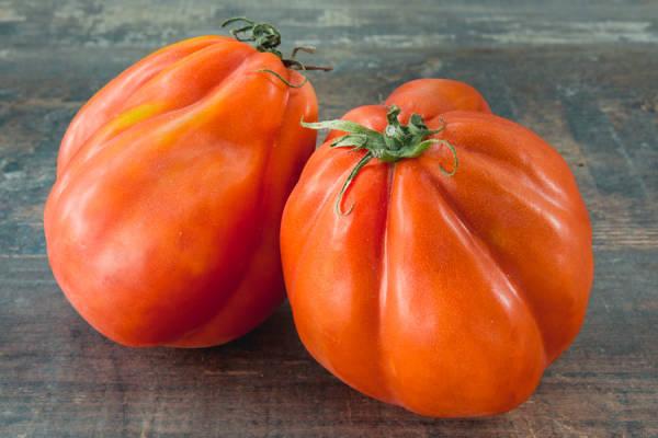 Tomate coeur de boeuf - Les Saveurs de Chailly