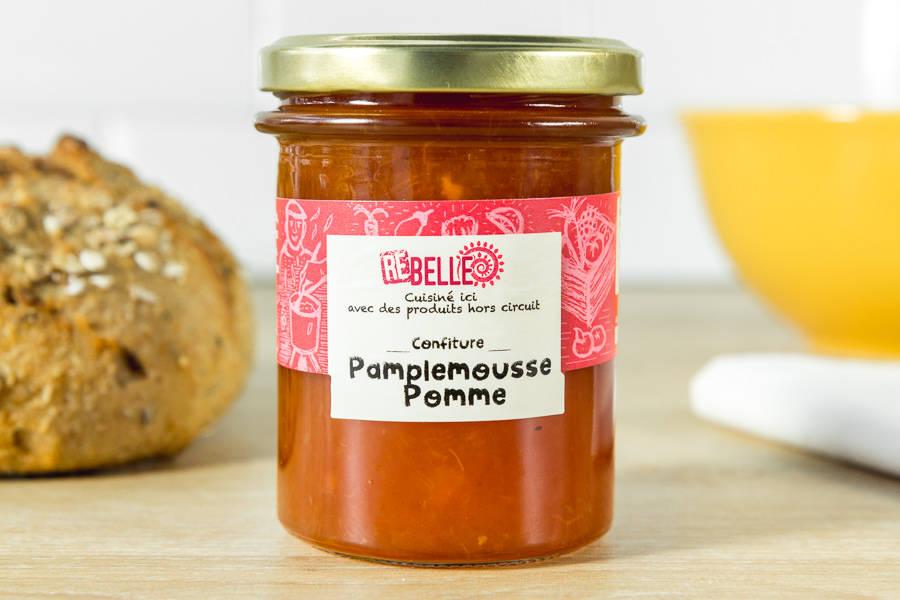 Confiture Pamplemousse Pomme - Re-Belle - La Ruche qui dit Oui ! à la maison