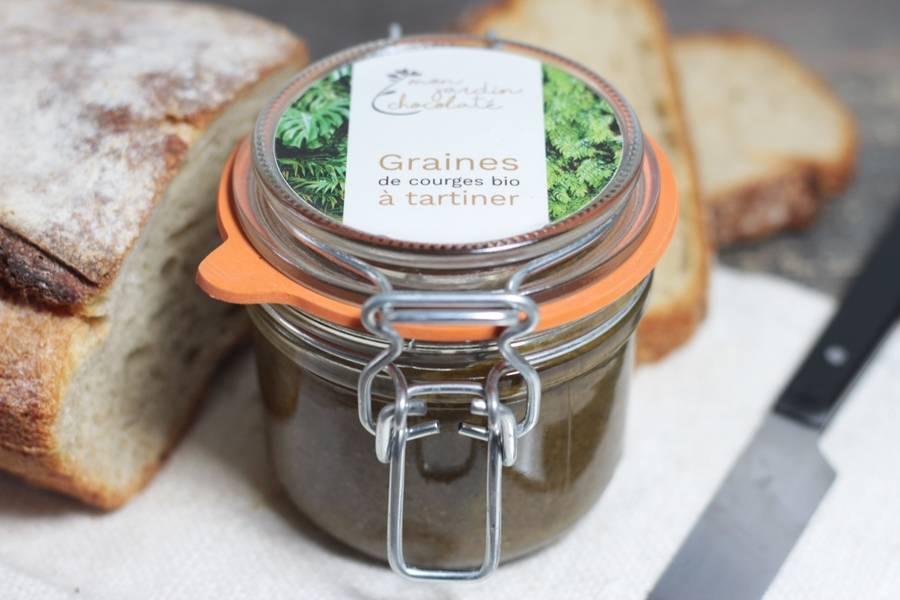 Graines de courge BIO à tartiner - Mon Jardin Chocolaté - La Ruche qui dit Oui ! à la maison