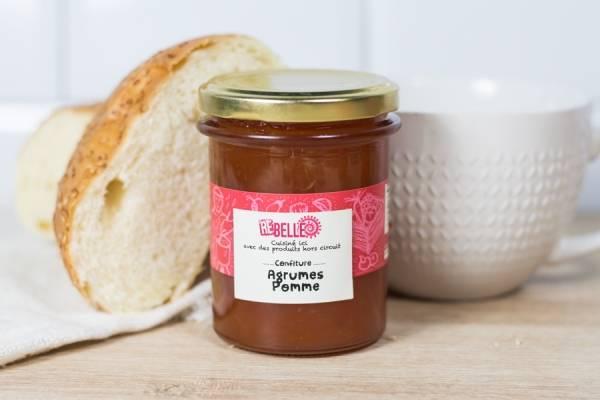 Confiture Pomme Agrumes - Re-Belle