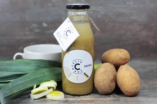 Soupe poireau pomme de terre - Chancelie - Le Comptoir Local