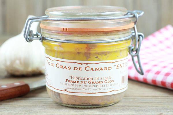 Foie gras de canard Entier Mi-Cuit - Ferme du Grand Clos