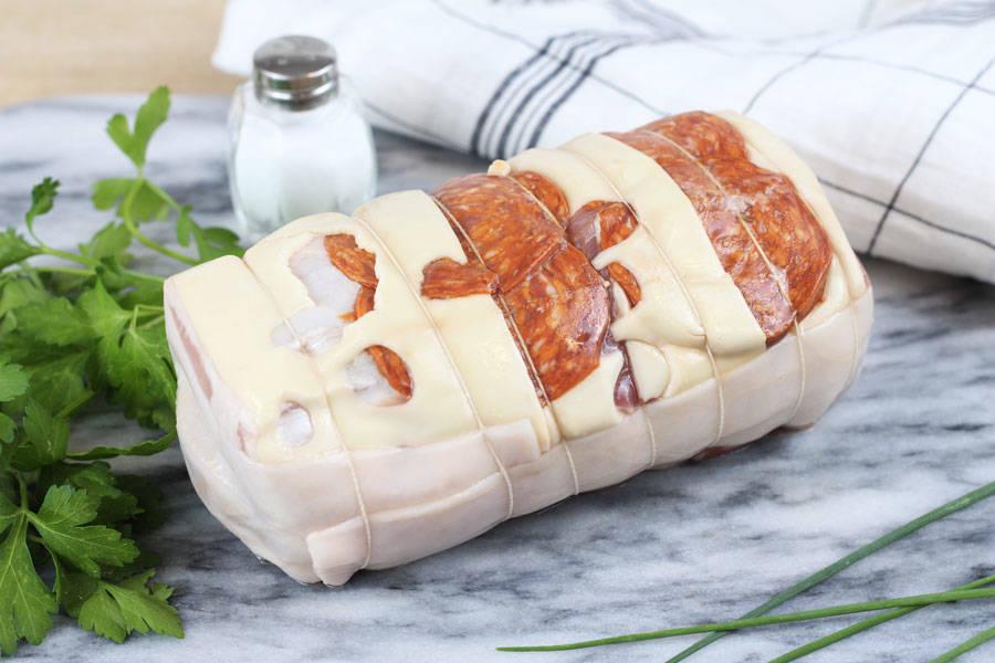 Roti emmental chorizo - Ferme Courtois - La Ruche qui dit Oui ! à la maison