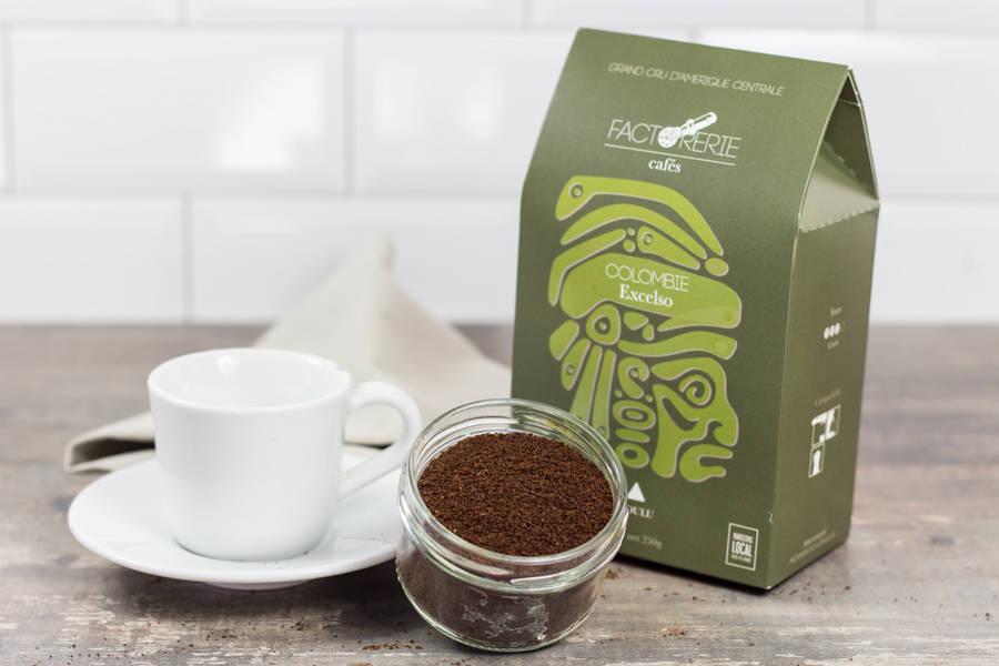 Colombie BIO moulu - Cafés Factorerie - La Ruche qui dit Oui ! à la maison