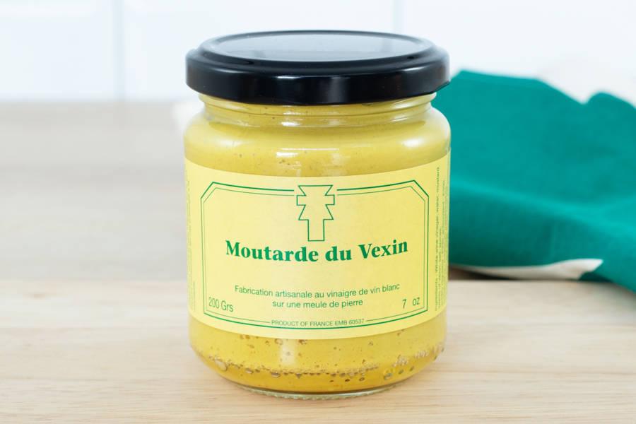 Moutarde du Vexin - 200g - Ferme de la Distillerie - La Ruche qui dit Oui ! à la maison