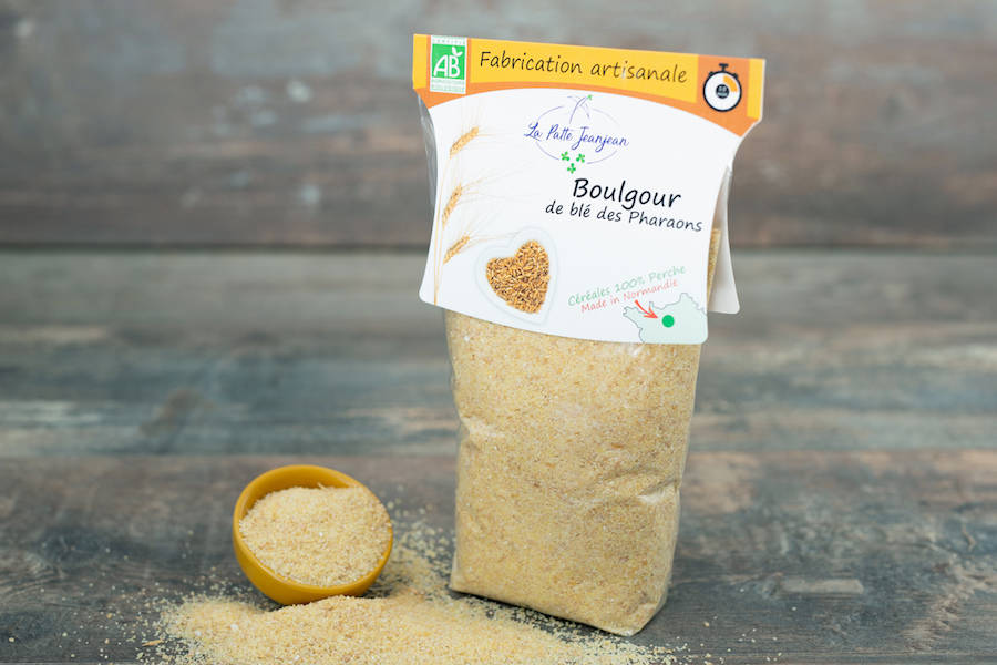Boulgour de Blé des Pharaons BIO 400g - La patte Jeanjean - La Ruche qui dit Oui ! à la maison