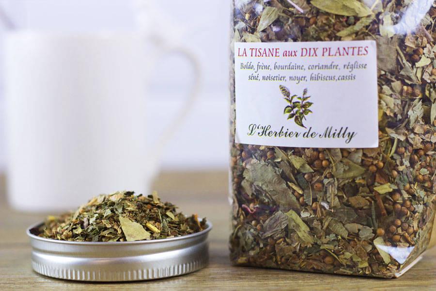 Tisane aux 10 plantes - L'Herbier de Milly - La Ruche qui dit Oui ! à la maison