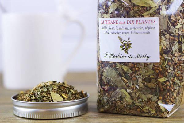 Tisane aux 10 plantes - L'Herbier de Milly - Le Comptoir Local