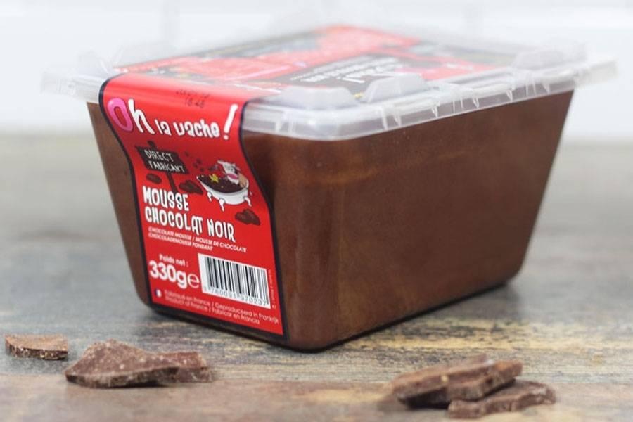Mousse au chocolat noir familiale - Oh la Vache - La Ruche qui dit Oui ! à la maison