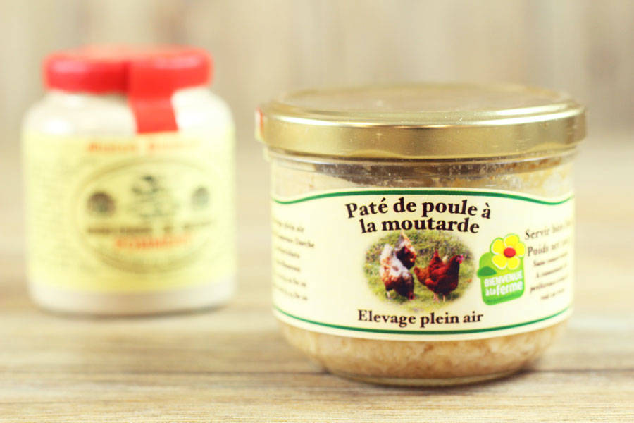 Pâté de poule à la moutarde - Ferme des Parrichets - La Ruche qui dit Oui ! à la maison