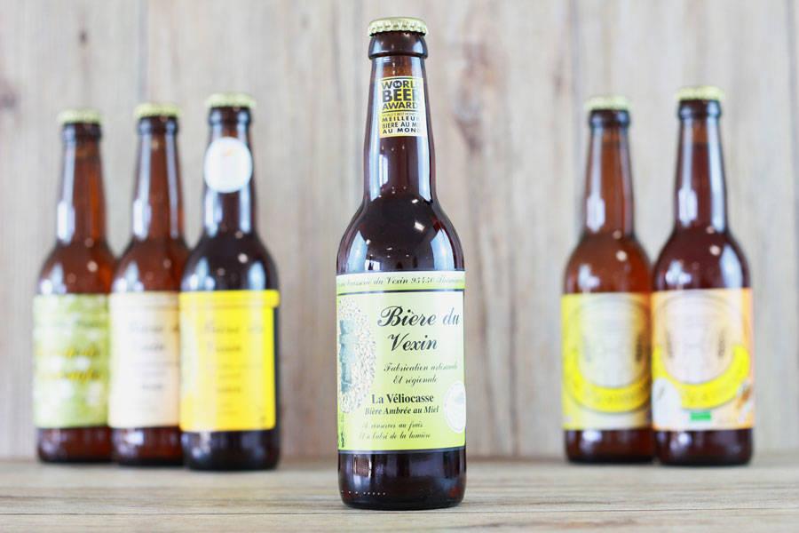 Bière du Vexin au miel La Véliocasse - Brasserie du Vexin - La Ruche qui dit Oui ! à la maison