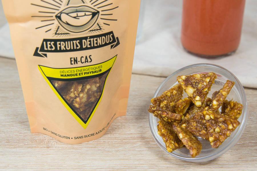 En-cas mangue physalis BIO - Les Fruits Détendus - La Ruche qui dit Oui ! à la maison