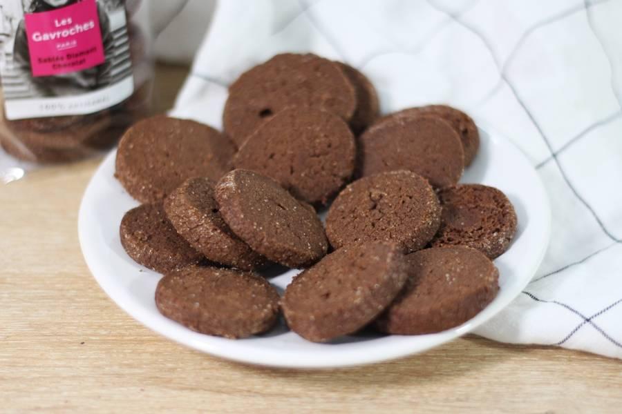 Sablés Diamant Chocolat - Les Gavroches - La Ruche qui dit Oui ! à la maison