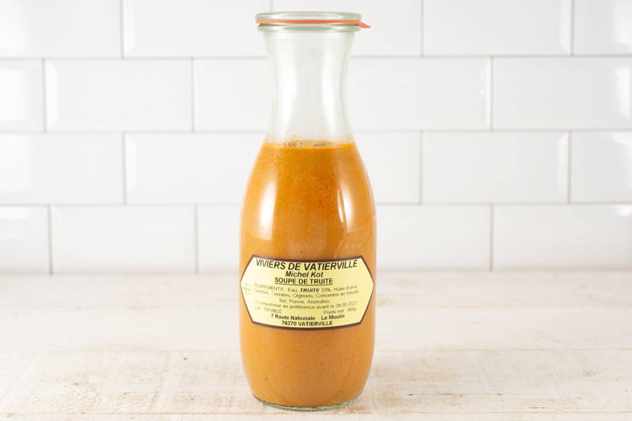 Soupe de truite - Viviers de Vatierville - La Ruche qui dit Oui ! à la maison