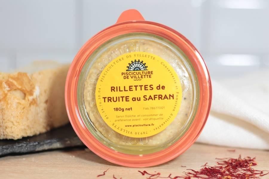 Rillettes de Truite au Safran - Pisciculture de Villette - La Ruche qui dit Oui ! à la maison