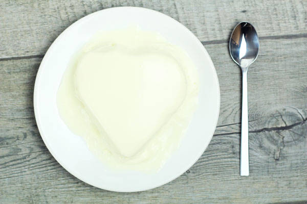 Petit coeur crème - Ferme de Saint-Thibault des Vignes