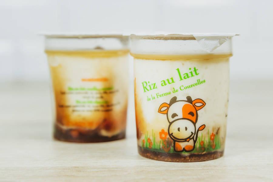 Riz au lait Vanille Caramel - Ferme de Courcelles - La Ruche qui dit Oui ! à la maison