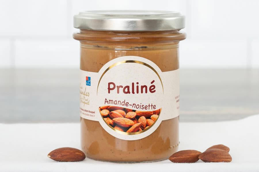 Praliné amandes et noisettes - Les amandes du Mont Bouquet - La Ruche qui dit Oui ! à la maison