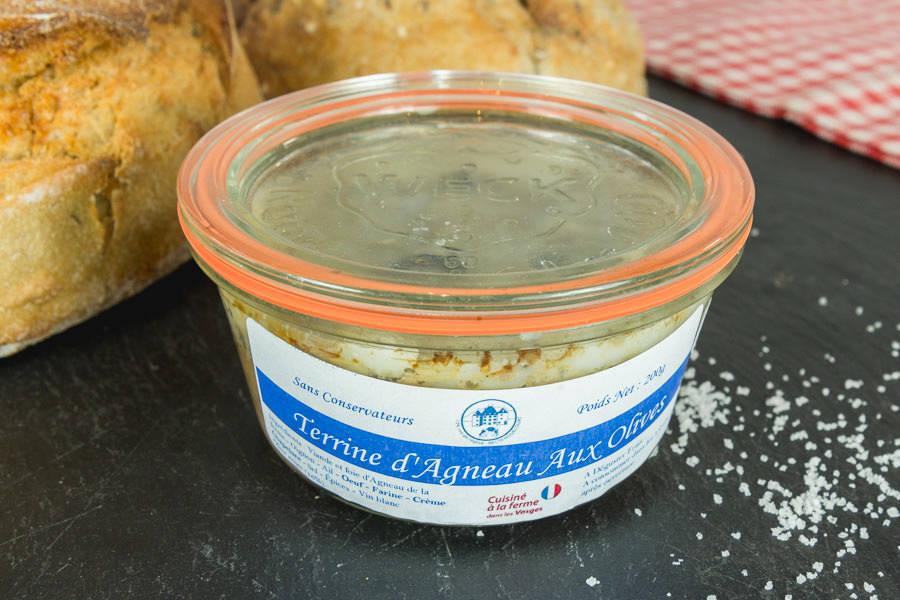 Terrine d'agneau aux olives - Le Goût des Prés - La Ruche qui dit Oui ! à la maison