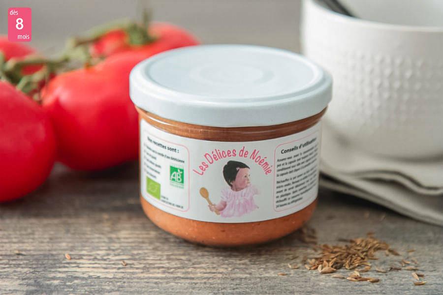 Velouté tomate et lentilles au cumin BIO - Les Délices de Noémie - La Ruche qui dit Oui ! à la maison