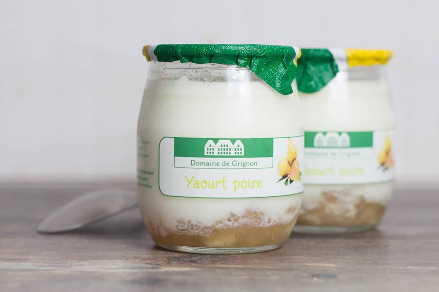 Yaourt poire - Ferme de Grignon - La Ruche qui dit Oui ! à la maison