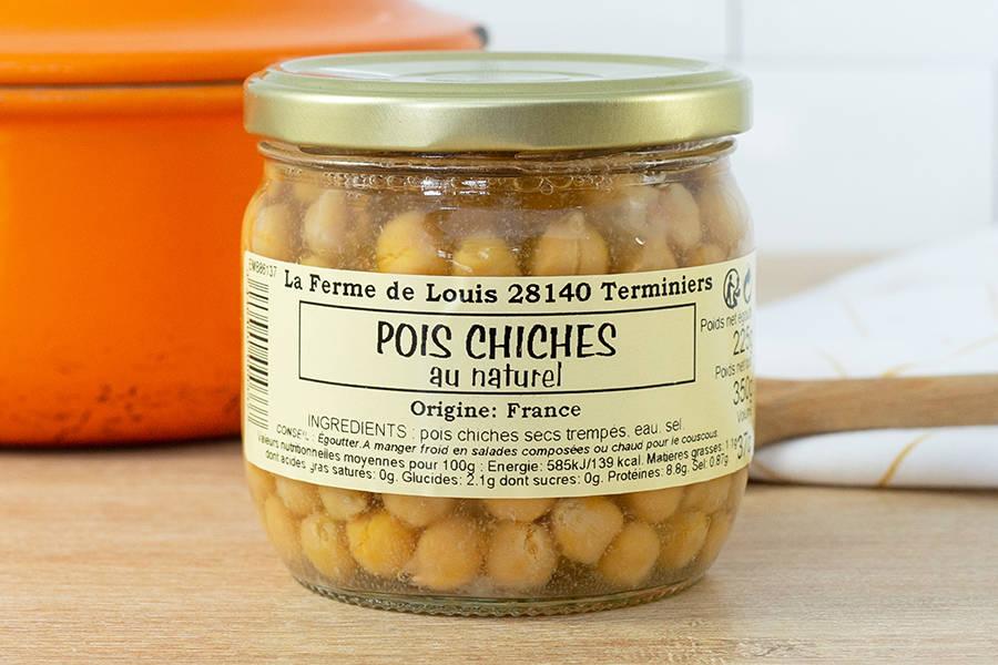 Bocal de pois chiches - Ferme de Louis - La Ruche qui dit Oui ! à la maison