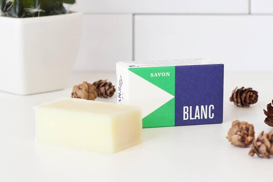 Amuse-douche savon Blanc - Le Baigneur - La Ruche qui dit Oui ! à la maison
