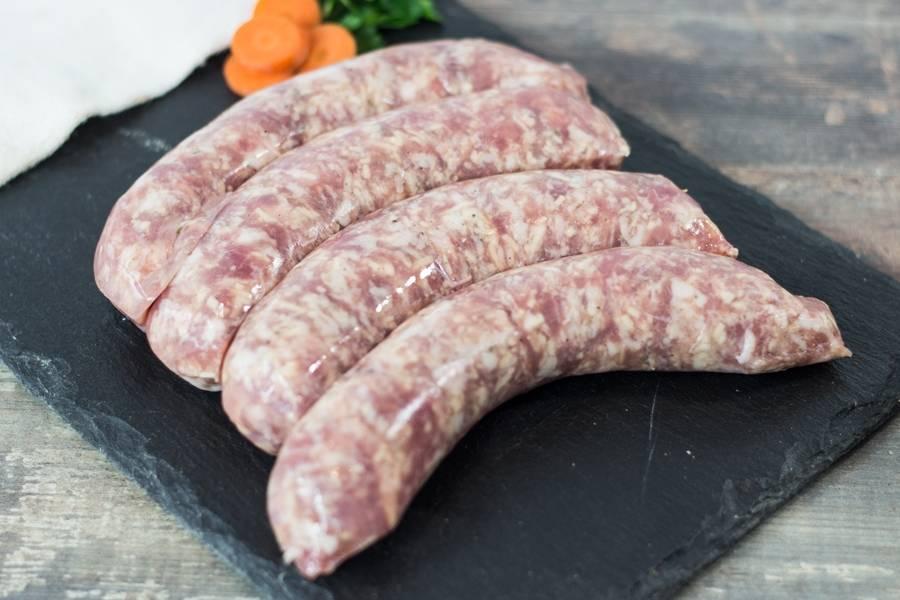 Saucisses de porc comté thym - Ferme les Barres - La Ruche qui dit Oui ! à la maison