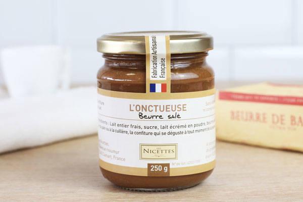 Confiture de lait au beurre salé - Les Nicettes