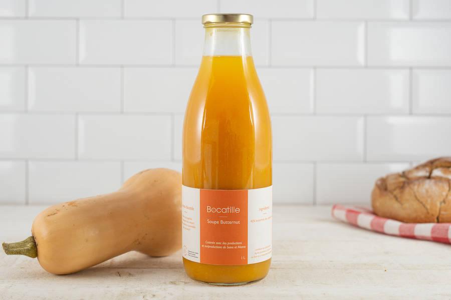 Soupe de Butternut 100cL - Conserverie de Larnière - La Ruche qui dit Oui ! à la maison