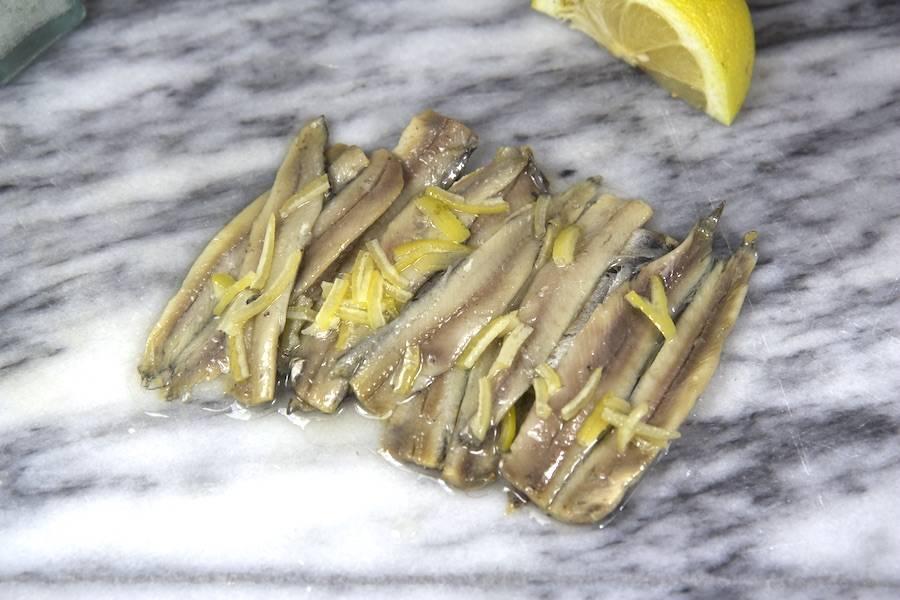 Filet d'Anchois (marinés aux zeste de citron) - Ô'poisson - La Ruche qui dit Oui ! à la maison