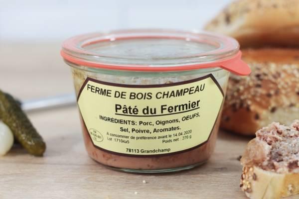 Pâté du fermier - Ferme de Bois champeau