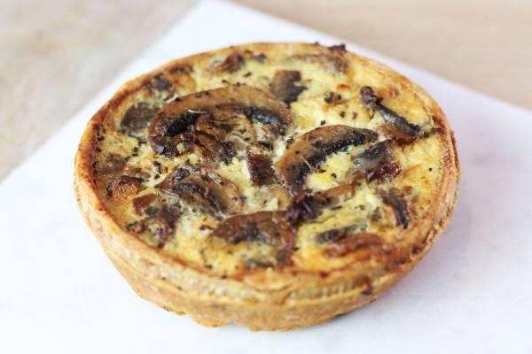 Tarte champignons - Rachel's Cake