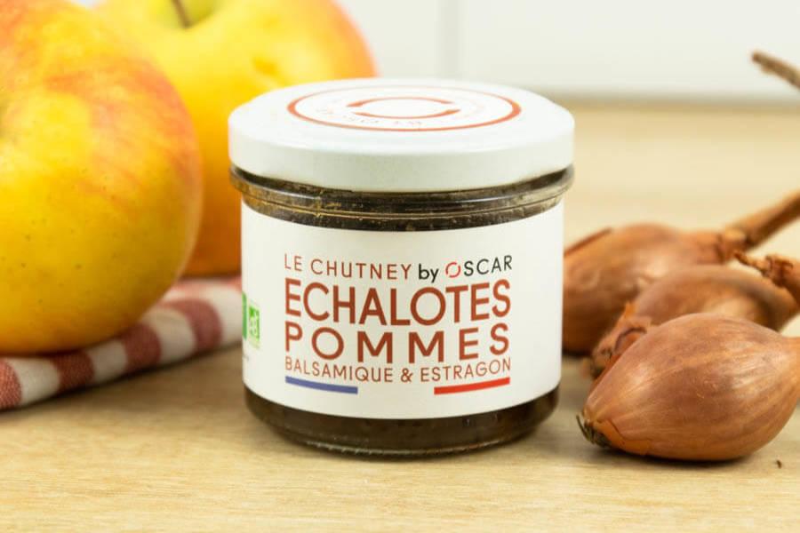 Chutney d'échalotes et pommes BIO - By Oscar - La Ruche qui dit Oui ! à la maison