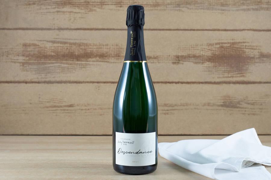 Champagne cuvée Descendance Brut - Domaine Tapprest Percebois - La Ruche qui dit Oui ! à la maison