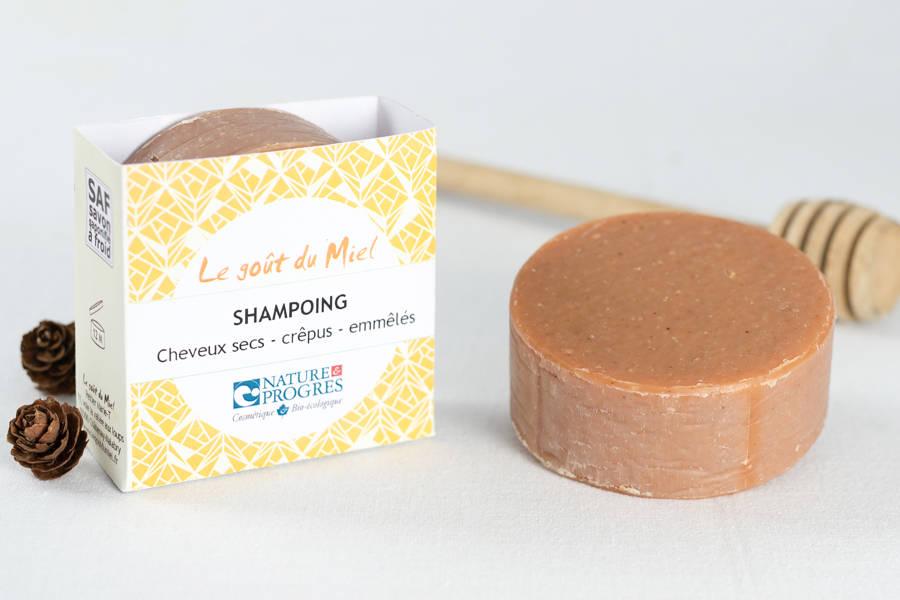 Shampoing – Cheveux crêpus, emmêlés, secs 90g - Le Goût du Miel - La Ruche qui dit Oui ! à la maison