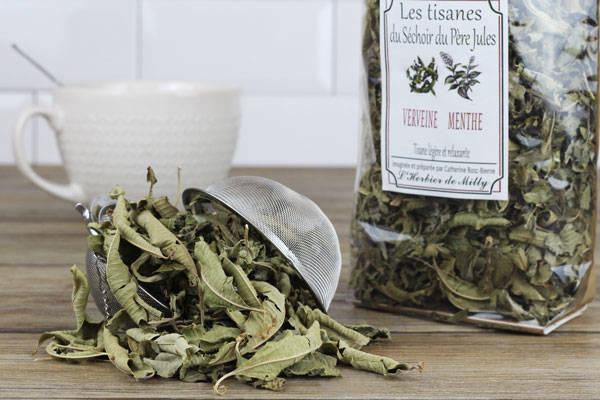 Tisane verveine menthe - L'Herbier de Milly - Le Comptoir Local