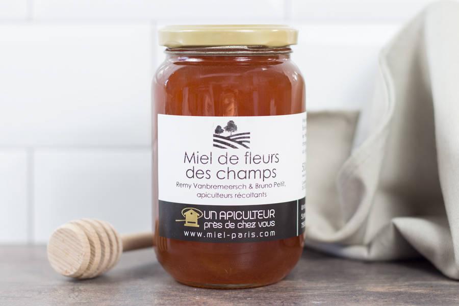 Miel de fleurs des champs  500g - Un apiculteur près de chez vous - La Ruche qui dit Oui ! à la maison