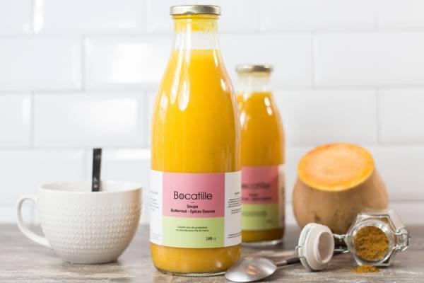 Soupe de Butternut épices douces - Conserverie de Larnière - Le Comptoir Local