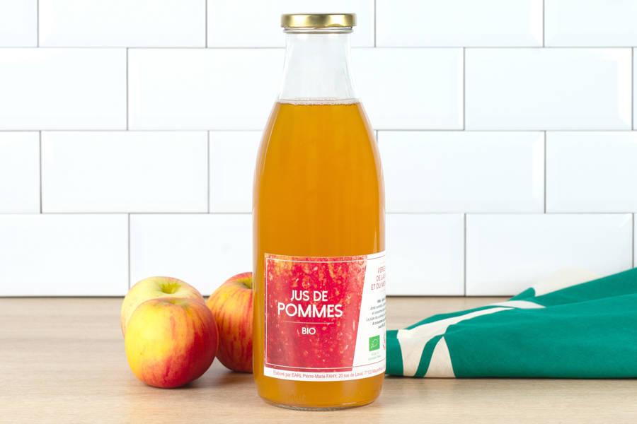 Jus de pomme BIO - Ferme des Fahy - La Ruche qui dit Oui ! à la maison
